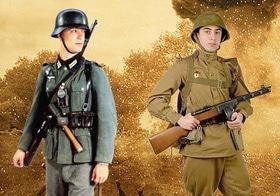 'Маевка' - Лекция-демонстрация 'Униформа немецко-советской войны'