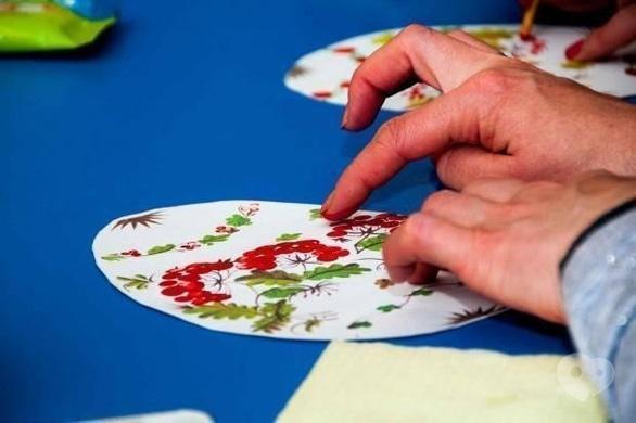 Обучение - Мастер-класс 'Рисование пальчиками. Петриковская роспись'