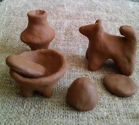 Мастер-класс по лепке глиняных трипольских фигурок