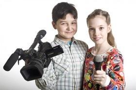 "Набор на курс для подростков ""Тележурналистика и видеоблогинг"""