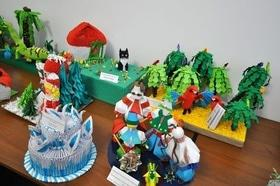 """Виставка дитячих робіт """"Мистецтво оригамі"""""""