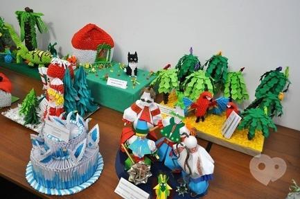 Выставка - Выставка детских работ 'Искусство оригами'