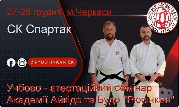 Спорт, отдых - Аттестационный семинар Академии Айкидо и Будо 'Рюсинкан'