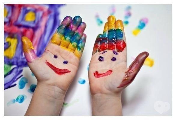 Обучение - Мастер-класс для самых маленьких 'Рисование пальчиками'