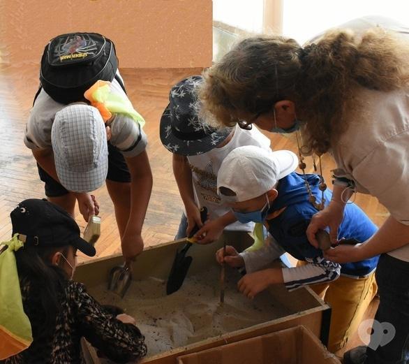 Обучение - Археологическая игра 'Раскопки'