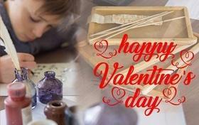 'День Св. Валентина' - Мастер-класс по истории письма и изготовления открытки-валентинки