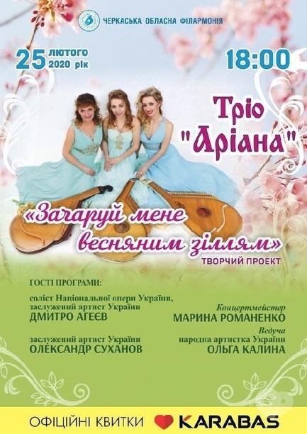 Концерт - Трио 'Ариана'