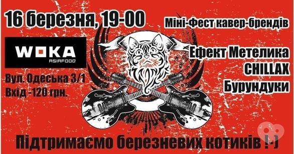 Концерт - Мини-фест кавер бэндов
