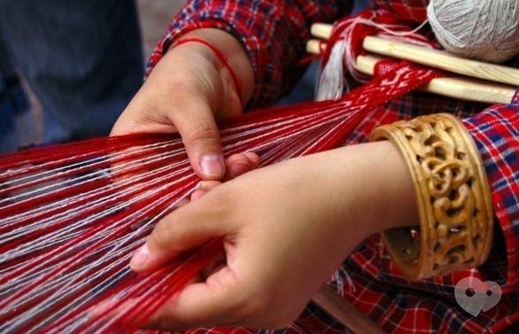 Обучение - Мастер-класс 'Красное-прекрасное' по плетению поясов на досточках