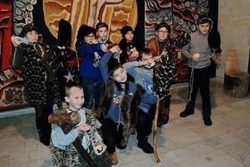 """Археологические игры """"Путешествие в каменный век"""""""