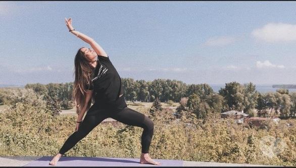 Спорт, отдых - Танцевальная йога под небом