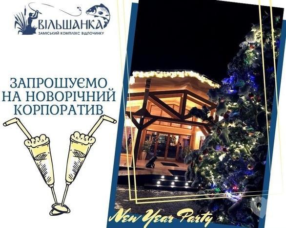 Вечірка - Новорічний корпоратив в ресторані 'Вільшанка'