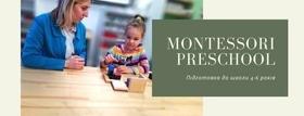 "Набор на курс ""Montessori Preschool Подготовка к школе"""