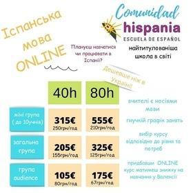 Набор в онлайн программы изучения испанского языка