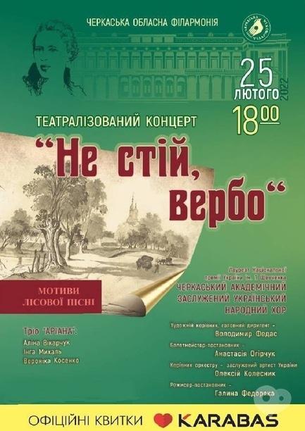 Концерт - Театрализованный концерт 'Не стой, Иво'