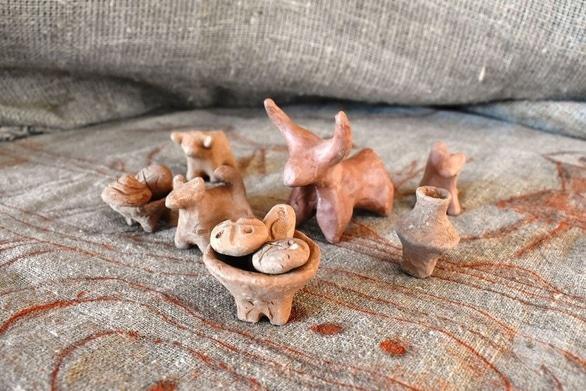 Обучение - Мастер-класс 'Лепка трипольских статуэток-оберегов из глины'