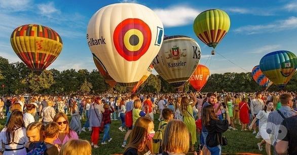 Спорт, отдых - Фестиваль воздушных шаров 'Монгольфьерия' в Черкассах