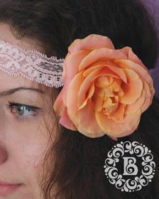 Свадьба - Ретро повязка
