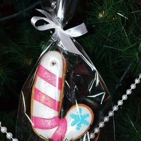 Новый год  2019 - Пряник 'Рождественская трость'