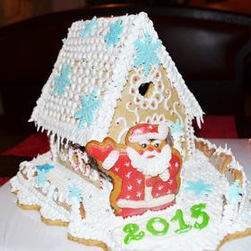 Новый год  2019 - Пряничный домик 'В гостях у Деда Мороза'