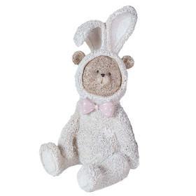 Фігурка ведмедик у костюмі зайця 22 см
