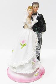 Свадьба - Фигурка 'Молодожены. Невеста с фатой'