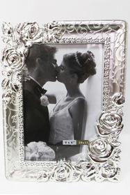 Фоторамка весільна з трояндами 10 на 15