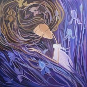 Стройся! - Картина 'Цветущая женщина'