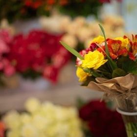 День Св. Валентина - Букетик