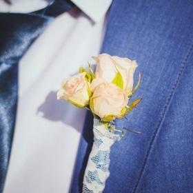 Свадьба - Бутоньерка жениха