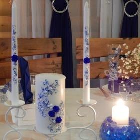 Свадьба - Свадебные свечи, семейный очаг