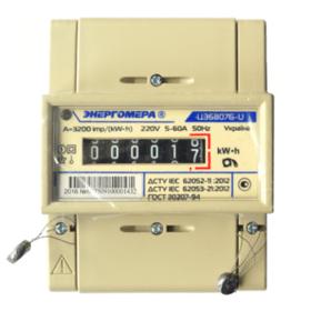 Стройся! - Счетчик эл. энергии Энергомера ЭТО 6807Б 5-60А 1ф М6Ш6Д2 на дин рейку