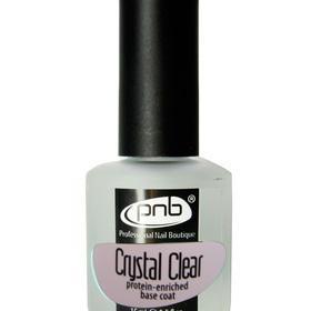 'PNB' (Crystal Clear) Протеиновое базовое покрытие под лак 15ml.