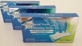 Отбеливающие полоски для зубов Advanced Teeth Whitening Strips
