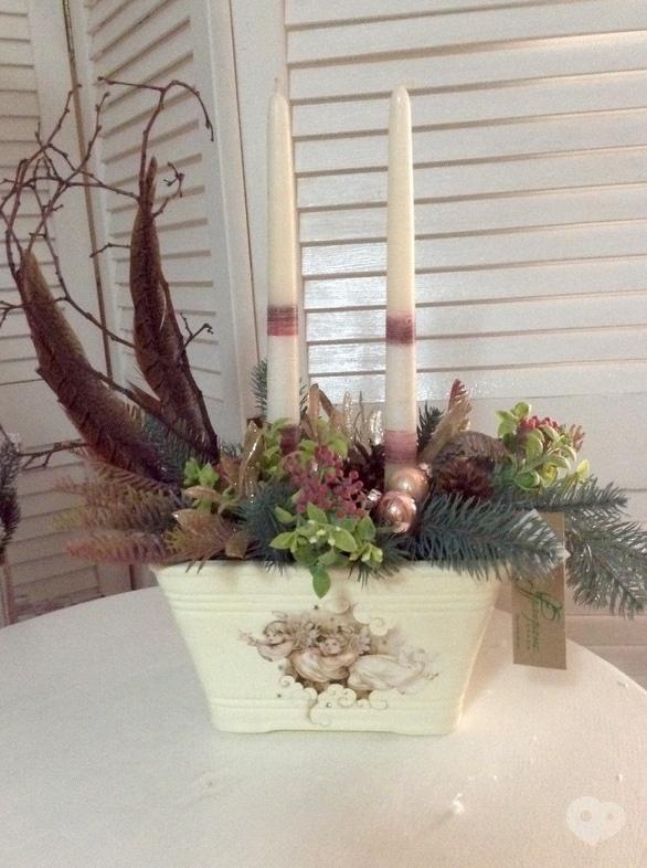 Фото-2 Фрагранс, салон флористики - Новогодняя композиция