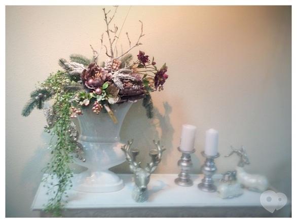 Фото-1 Фрагранс, салон флористики - Новогодняя композиция