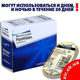 Будь здоров! - Контактные линзы PureVision
