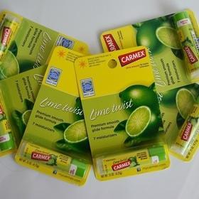 Будь здоров! - Carmex lime twist бользам для губ в стике