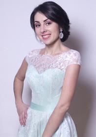 День Св. Валентина - Коктейльное платье А1709