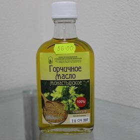 Горчичное масло монастырское