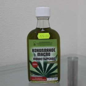 Конопляное масло монастырское