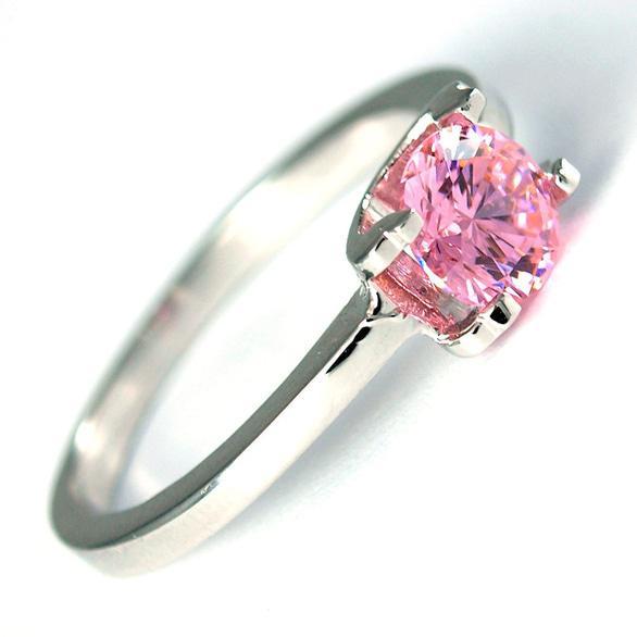Dreams, магазин ювелирных украшений со Swarovski - Кольцо с розовым цирконием Swarovski (DGR-33626)