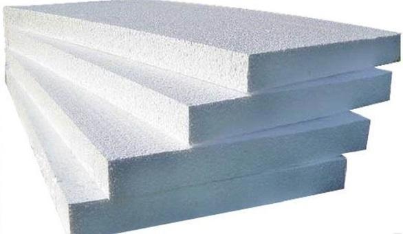 Строительная площадка Проминбуд, склад строительных материалов - Пенопласт