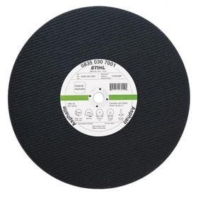 Стройся! - Отрезной диск по асфальту и чугуна из синтетической смолы STIHL Ø350мм*4,0мм