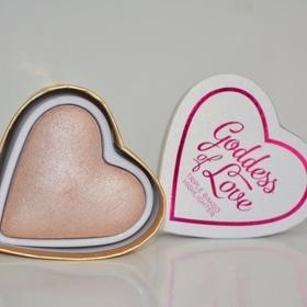 День Св. Валентина - Хайлайтер сердечко I Heart Makeup Blushing Hearts – Goddess of Love Highlighter