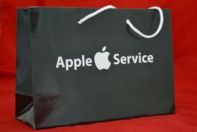 Пакеты бумажные с лого