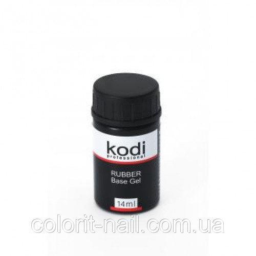 Колорит-нейл, интернет-магазин - Rubber Base (каучуковая основа для гель-лака) 14 мл Kodi Professional