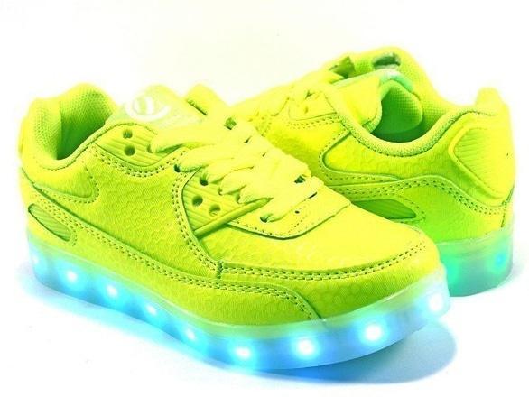 Топотусик, магазин детской обуви - Clibbe Кроссовки K158 neon-green