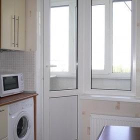 Стройся! - Балконный блок. Профиль REHAU EuroD60. Стеклопакет 4/10/4/10/4і, цвет: белый