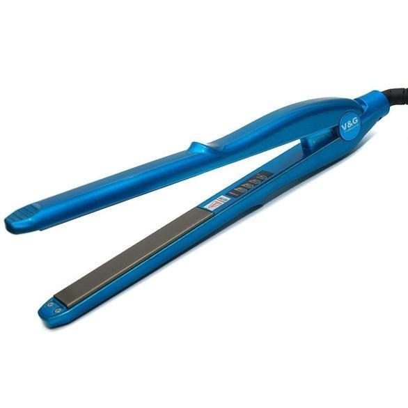Магазин 5000 мелочей, товары для салонов красоты - V and G Professional Утюжок 2в1 1268 Blue